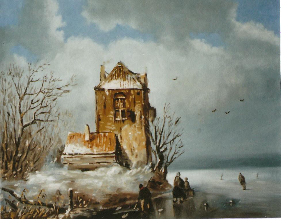 121. Romantisch wintertje (naar Spohler)