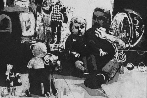 17. Kinderkamer met beer