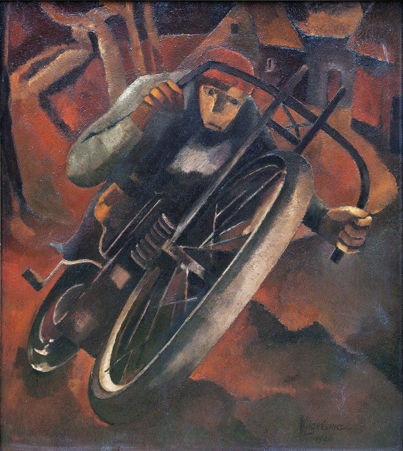Dokter Wiegersma - De motorrijder
