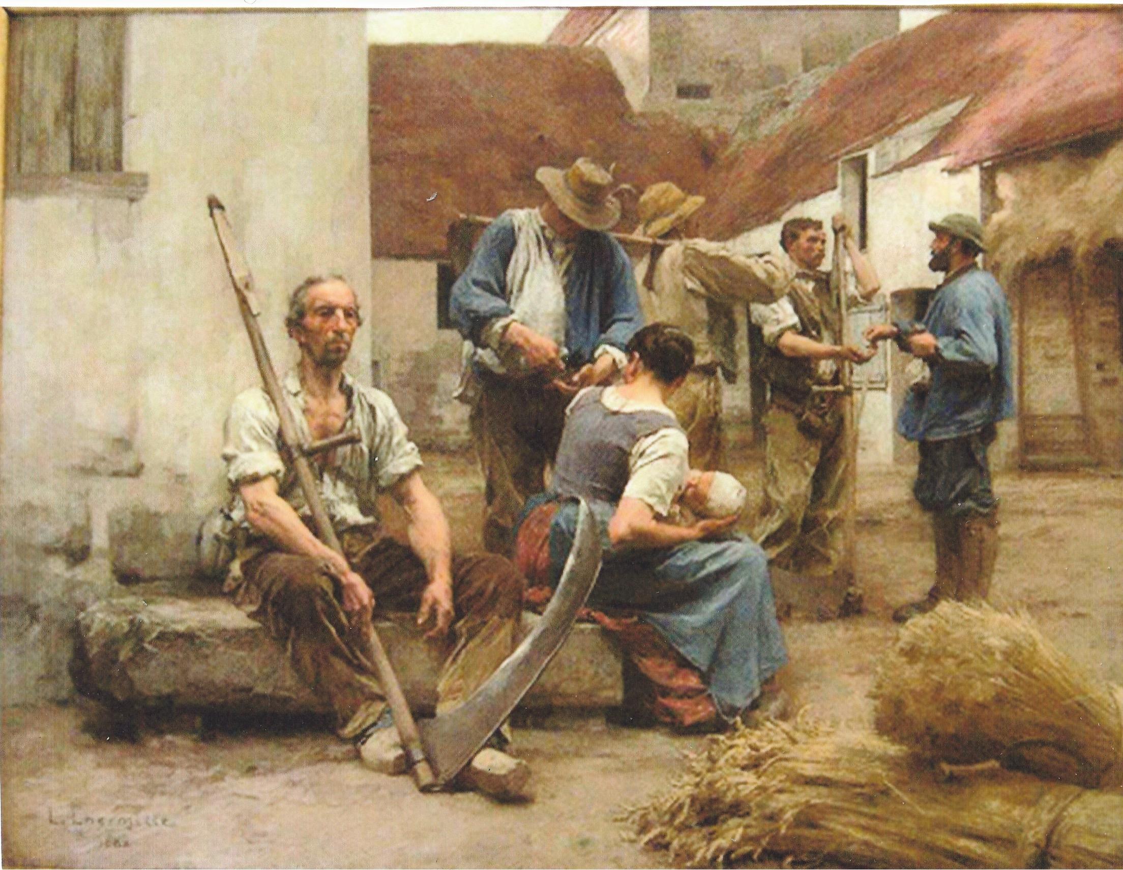 Leon Lhermitte - La Paye des Moissonneurs