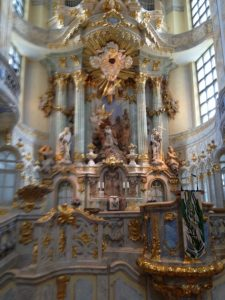 Dresder Frauenkirche - interieur