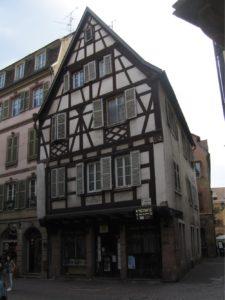 Het voormalige woonhuis van de familie Schongauer